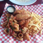 Fisherman platter!!!yummy!!!