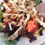 Strawberry Walnut Chicken Salad