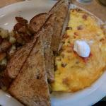 """The """"egg-ceptional omelette"""" dish"""