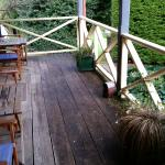 Deck of the miners cottages