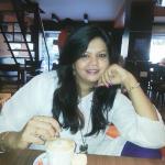 enjoying cofee