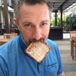 The toast!
