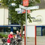 Knotenpunkt Radwegenetz