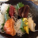 This sashimi gave me nasty pain & diarrhoea.