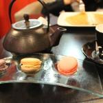 Macarons et thé