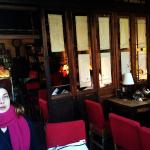 Cosy atmosphere of Sandglass cafe
