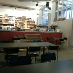 Main floor and book store