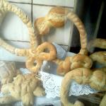 Roscas de pan de San Blas