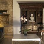 Living room gîte Le Cariol