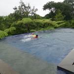 My children like to swim here