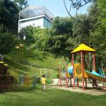 Nice garden and playground