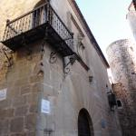 Palacio de Carvajal S.XV con Torre árabe S.XII