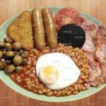 Full English breakfast (served all day)