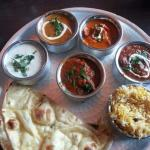 Our mixed Curry Plate