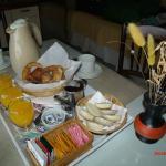 desayuno en el departamento