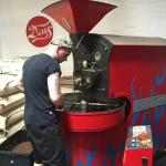 Hipster coffee roasting in Cape Town