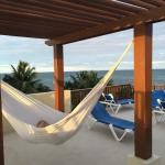 Rooftop Deck with Hammocks and a Jacuzzi