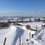 Chelmorton low with snow