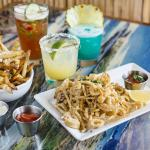 Happy Hour appetizers, boat drinks, and margaritas. Available everyday 2:00-6:00 & 9:00-11:00