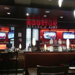 Restaurant interior, Houston  |  Edmonton International Airport, Edmonton, Alberta, Canada