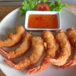 Deep fried prawn xxx