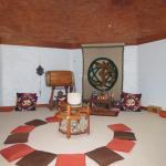 Ashram Interior