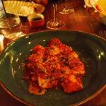 Amazing homemade pasta dish w/ pork/beef red sauce - YUMMY!