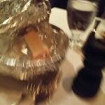 bread srved in foil