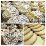 Yummy lemon fairy cakes
