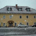 Schlosswirt Schneefall