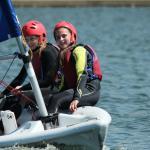 Kids sailing at Hove Lagoon