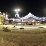 Post Christmas Big Square Sibiu