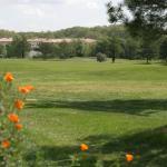 Le green depuis les Chambre supérieure et les suites vue golf