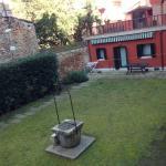 Internal garden, beautiful and serene