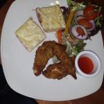 chicken tender starter.. amazing