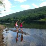 exploring the The Shawnee Inn's beautiful settings
