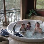 Everyone enjoys the tub