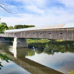 Cornish-Windsor covered bridge built 1866