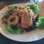 Stewart Island seafood salad