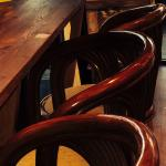 Our stools are a nice place to relax!