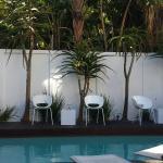 Peaceful and private pool area