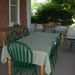 Front Porch Breakfast Area