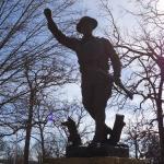 Statue up close
