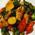 Chicken hunan