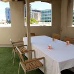 Roof Terrace table