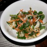 Entree - Crab & green mango salad