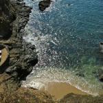 Zoa's mini private beach