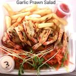 Garlic Prawn Salad