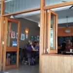 Interior of Sugar Beat Cafe