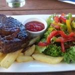 Mmmm perfect steak